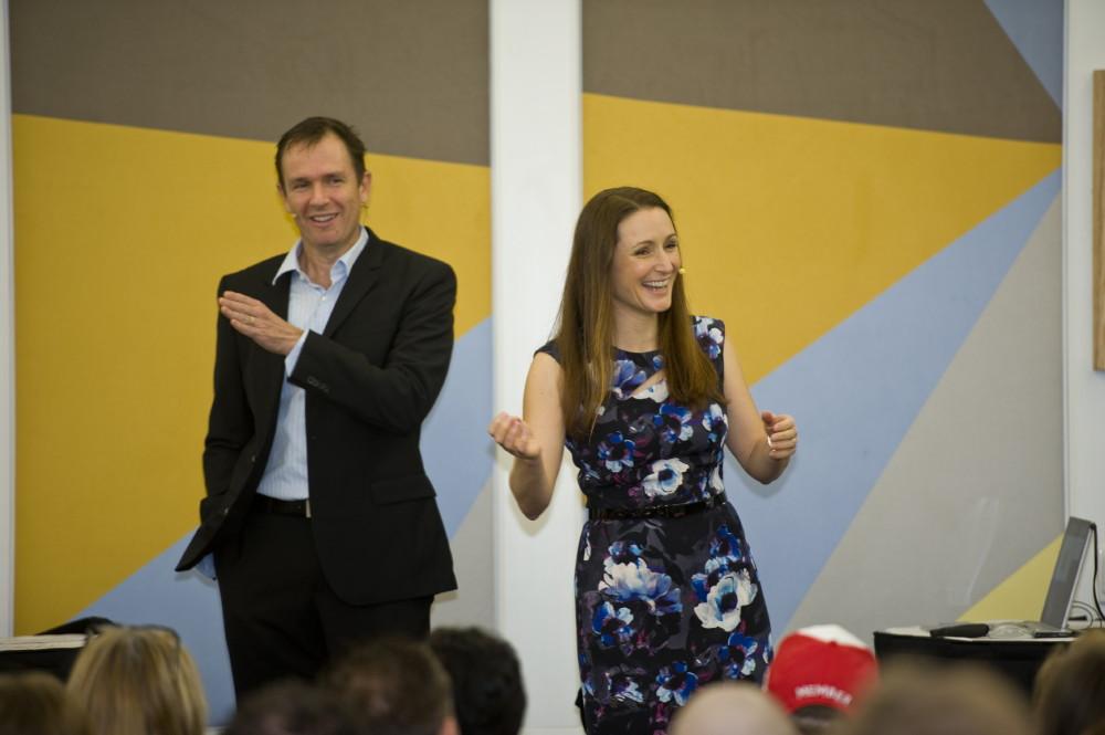 Matt and Liz Raad Live SEO Training Event Brisbane