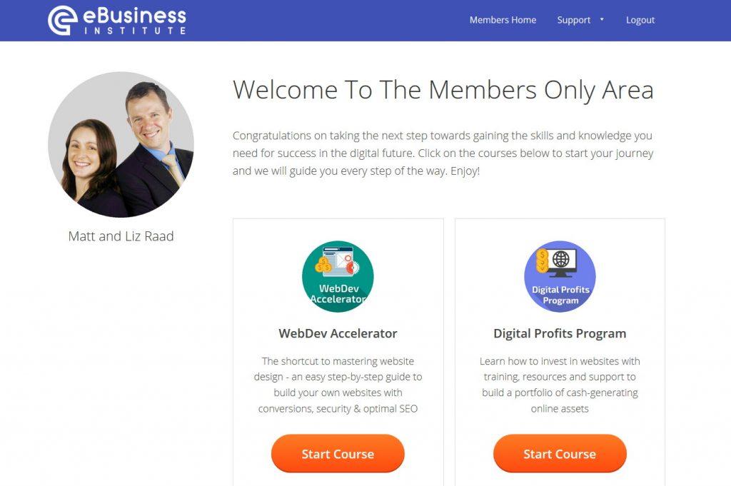 Matt and Liz Raad Digital Marketing Certificate Course