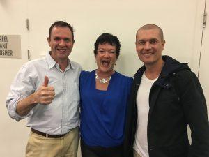 Matt Raad, Janet Beckers, Stuart Zadel