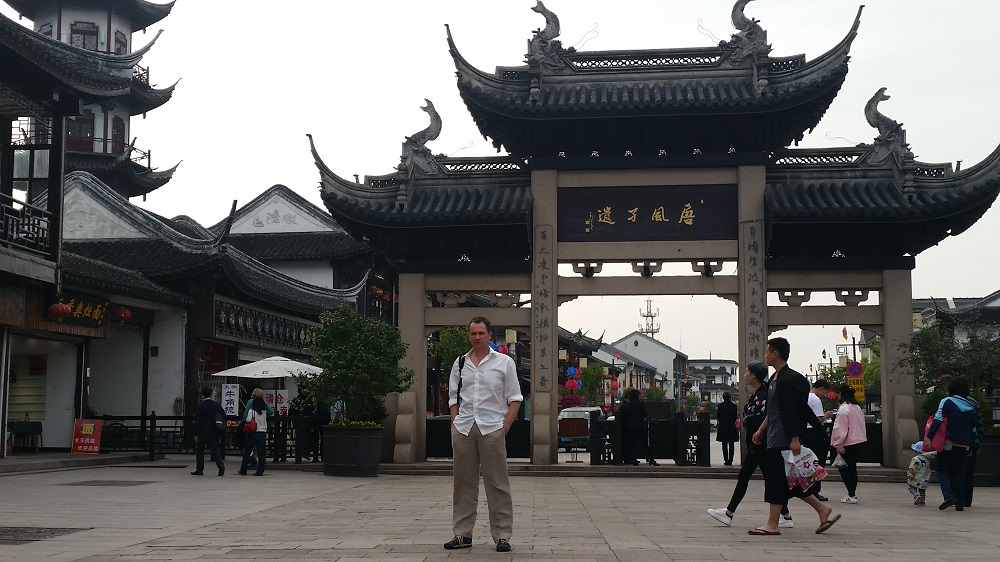 Matt Raad In China
