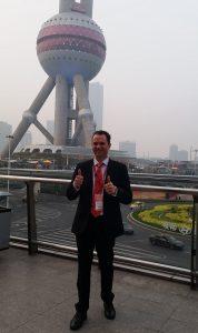 Matt Raad on trade mission to Shanghai